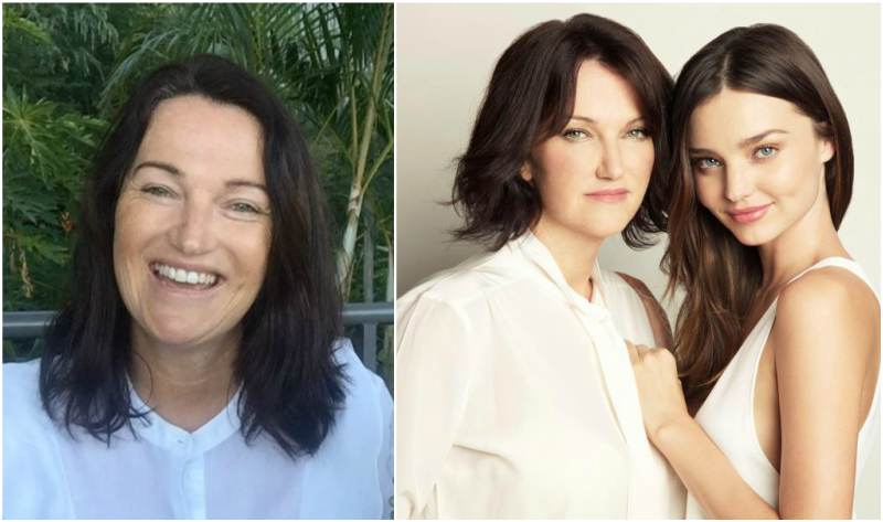 Miranda Kerr's family - mother Therese Kerr