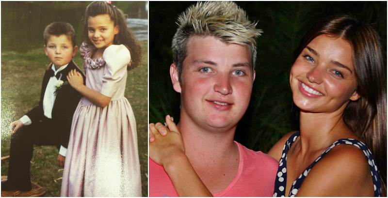 Miranda Kerr's siblings - brother Matthew Kerr