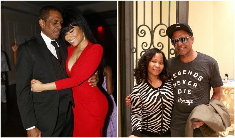 Nicki Minaj's family - father Robert Maraj