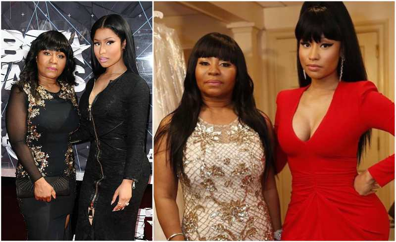 Nicki Minaj's family - mother Carol Maraj