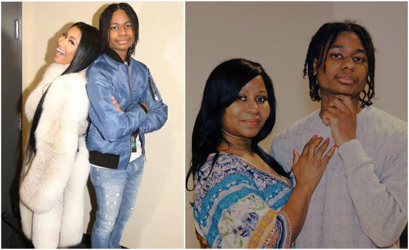 Nicki Minaj's siblings - brother Micaiah Maraj