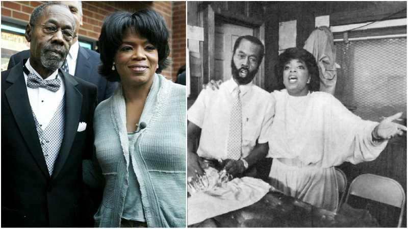 Oprah Winfrey's family - father Vernon Winfrey