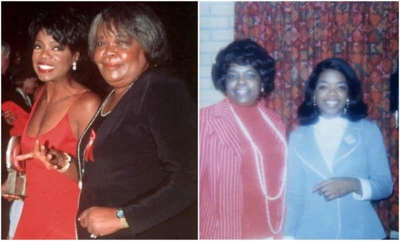Oprah Winfrey's family - mother Vernita Lee