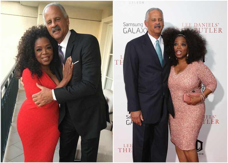 Oprah Winfrey's family - partner Stedman Graham