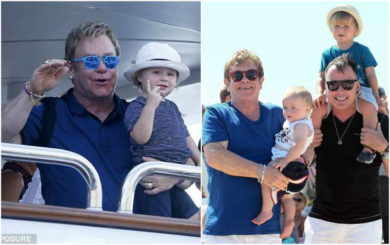 Sir Elton John's children - son Elijah Joseph Daniel Furnish-John