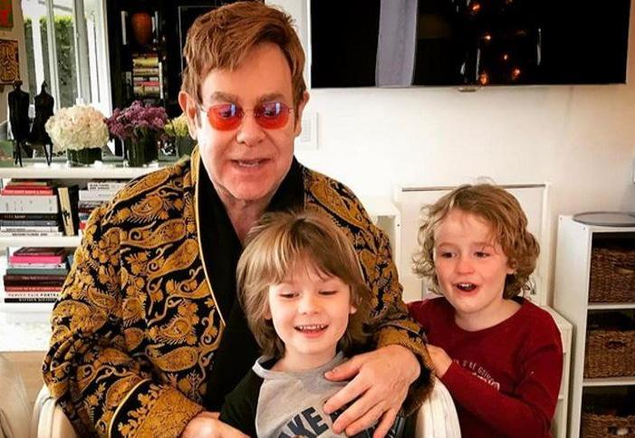 Sir Elton John's children