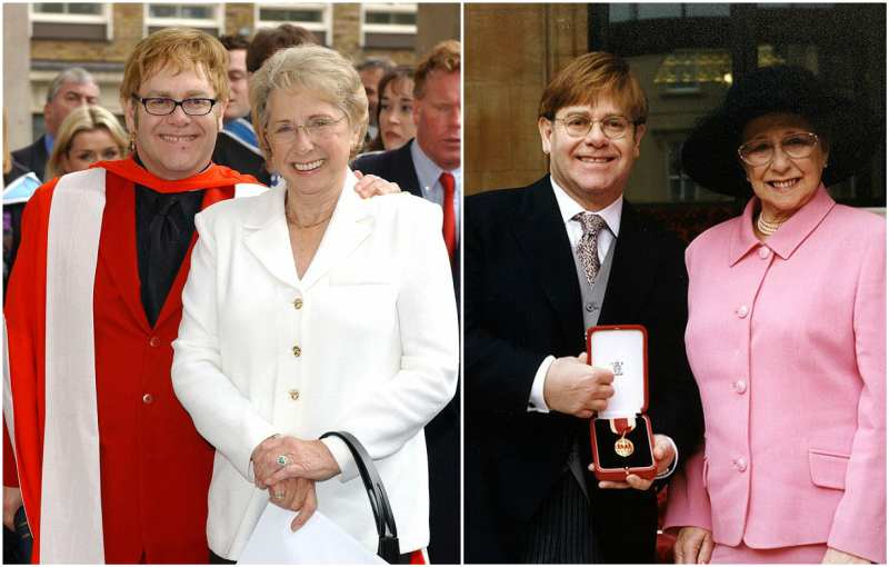 Sir Elton John's family - mother Sheila Farebrother