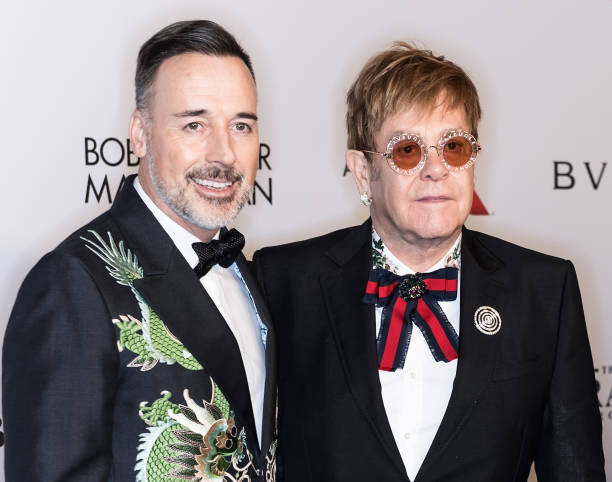 Sir Elton John's family - spouse David Furnish