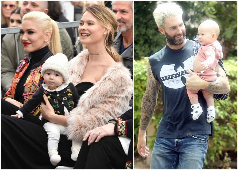 Adam Levine's children - daughter Dusty Rose Levine
