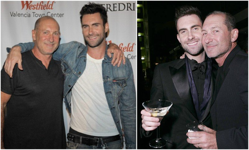 Adam Levine's family - father Fred Levine