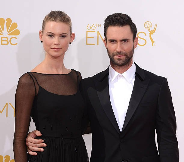 Adam Levine's family - wife Behati Prinsloo Levine