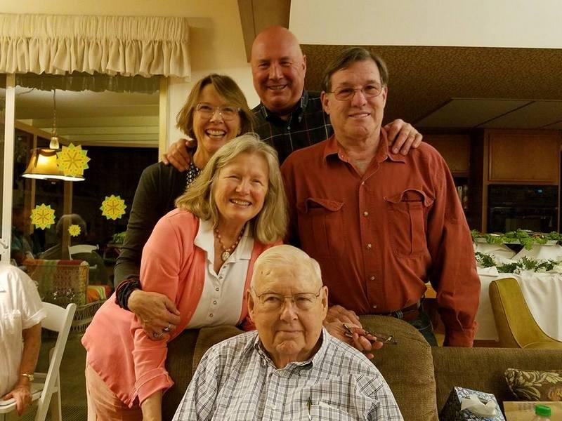 Annette Bening's family - father Arnett Grant Bening