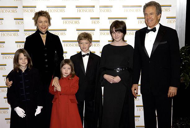 Annette Bening and Warren Beatty's children