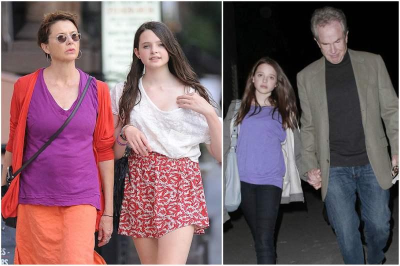 Annette Bening and Warren Beatty's children - daughter Isabel Beatty
