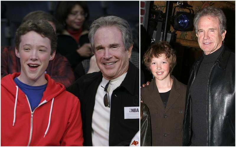 Annette Bening and Warren Beatty's children - son Benjamin Beatty