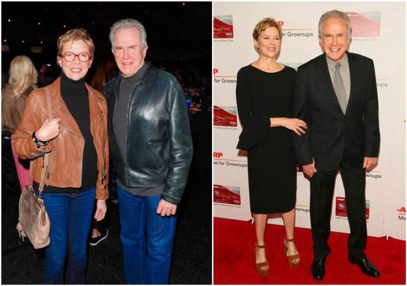 Annette Bening's family - husband Warren Beatty