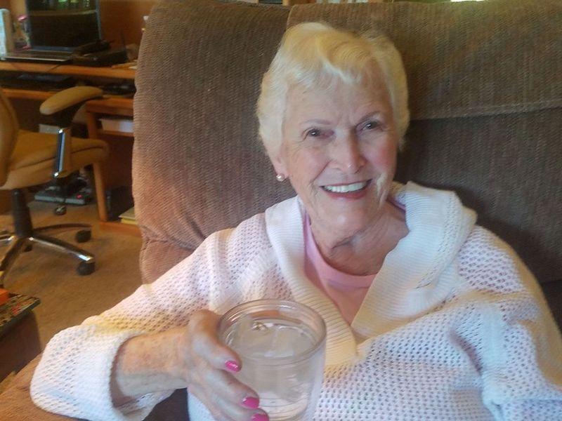 Annette Bening's family - mother Shirley Bening