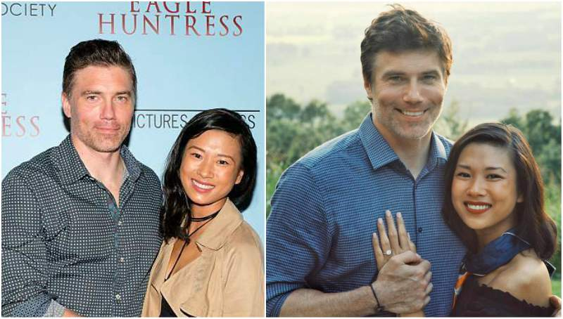Anson Mount's family - fiancee Darah Trang