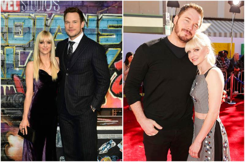 Chris Pratt's family - ex-wife Anna Kay Faris