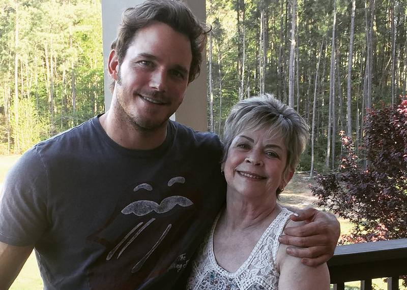 Chris Pratt's family - mother Kathy Louise Pratt