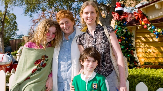 Cynthia Nixon's family