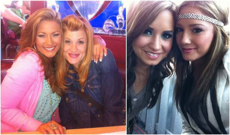 Demi Lovato's siblings - sister Dallas Leigh Lovato