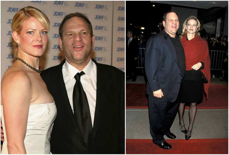 Harvey Weinstein's family - ex-wife Eve Chilton Weinstein