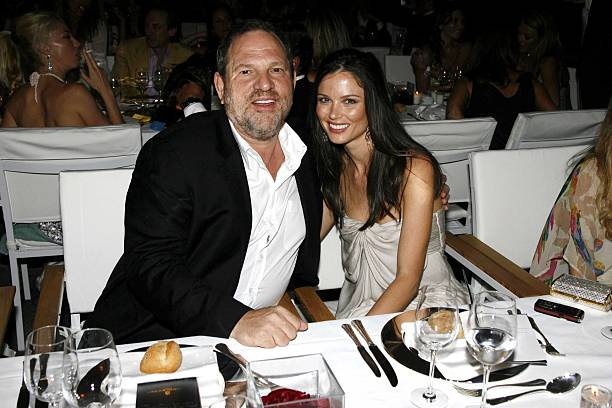 Harvey Weinstein's family - wife Georgina Chapman