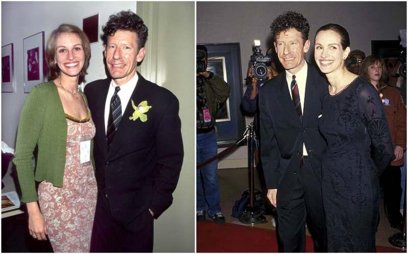 Julia Roberts' family - ex-husband Lyle Lovett