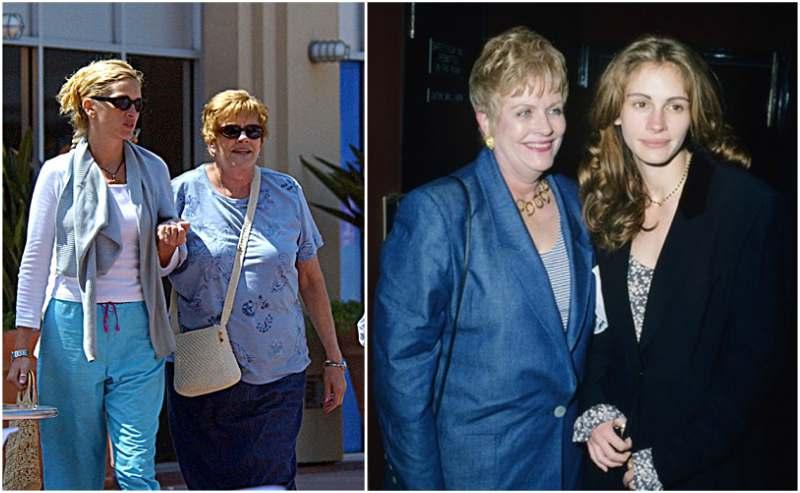 Julia Roberts' family - mother Betty Lou Bredemus