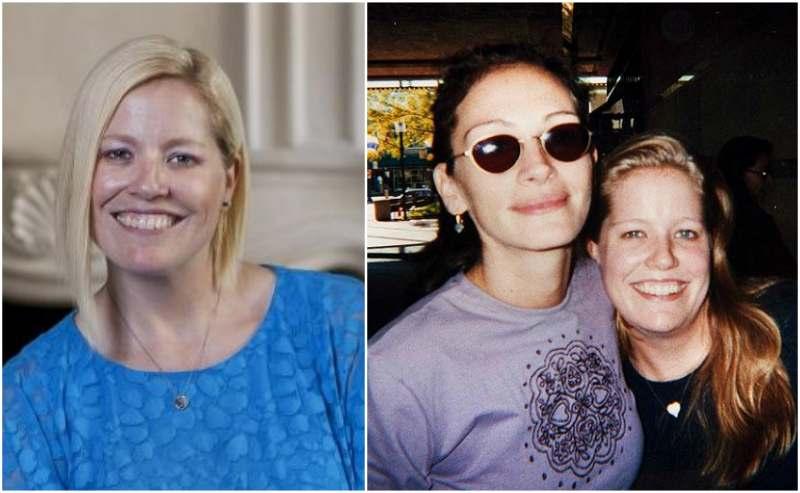 Julia Roberts' siblings - half-sister Nancy Motes