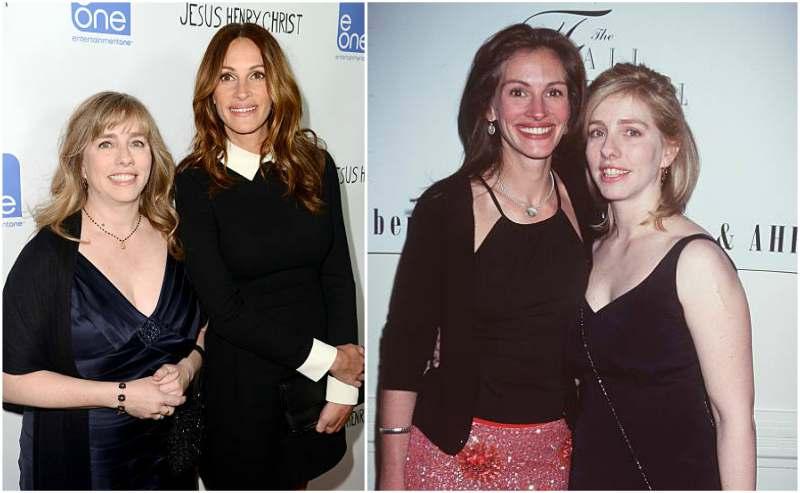 Julia Roberts' siblings - sister Lisa Roberts Gillan