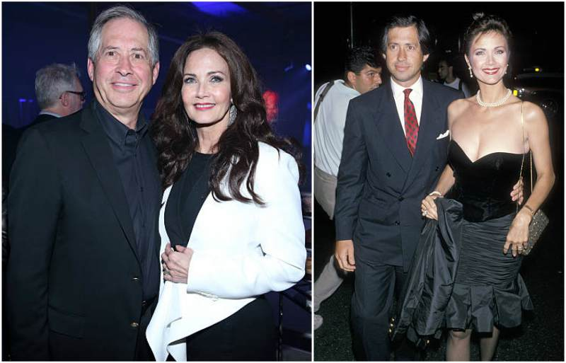 Lynda Carter's family - husband Robert A. Altman