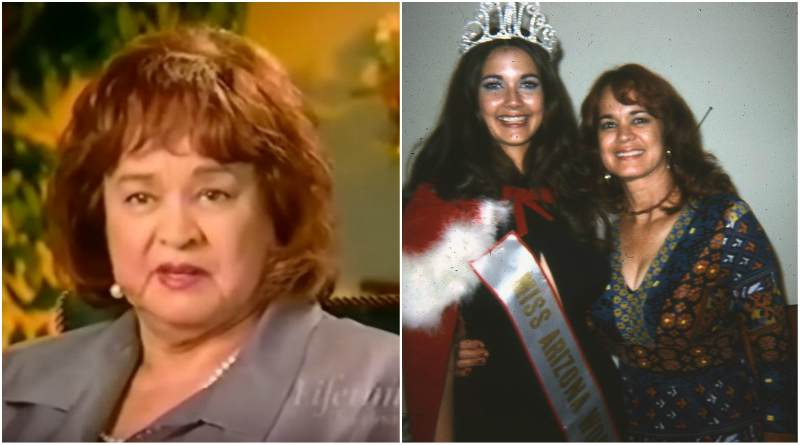 "Lynda Carter's family - mother Juana ""Jean"" Cordova Carter"