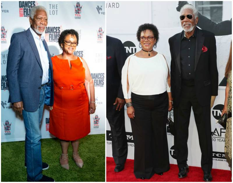 Morgan Freeman's children - adopted daughter Deena Freeman