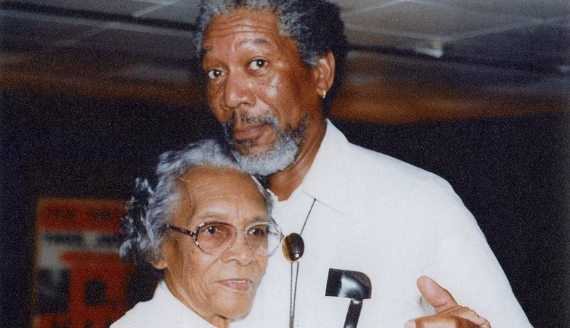 Morgan Freeman's family - mother Mayme Edna (née Revere)
