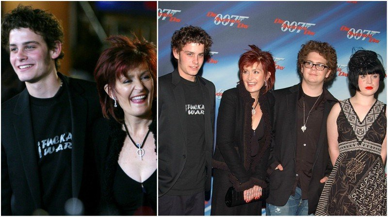 Ozzy Osbourne's children - adopted son Robert Marcato