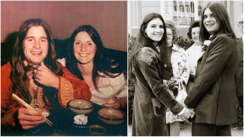 Ozzy Osbourne's family - ex-wife Thelma Riley
