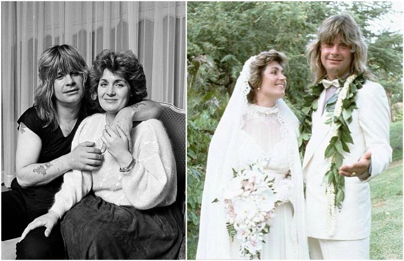 Ozzy Osbourne's family - wife Sharon Osbourne