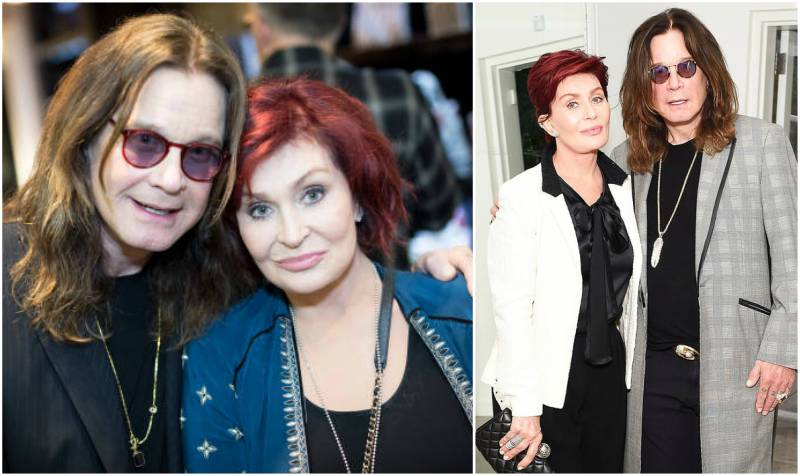 Ozzy Osbourne's family - wife Sharon Osbourne