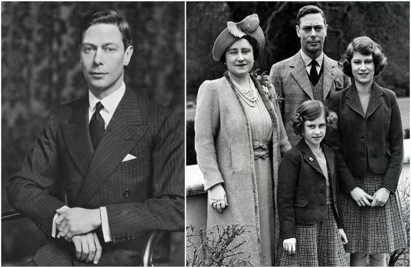 Queen Elizabeth II family - father King George VI