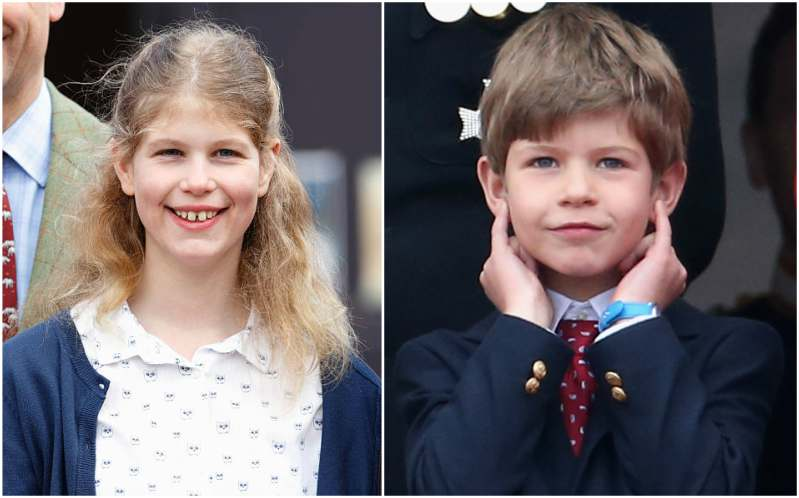 Queen Elizabeth II grandchildren