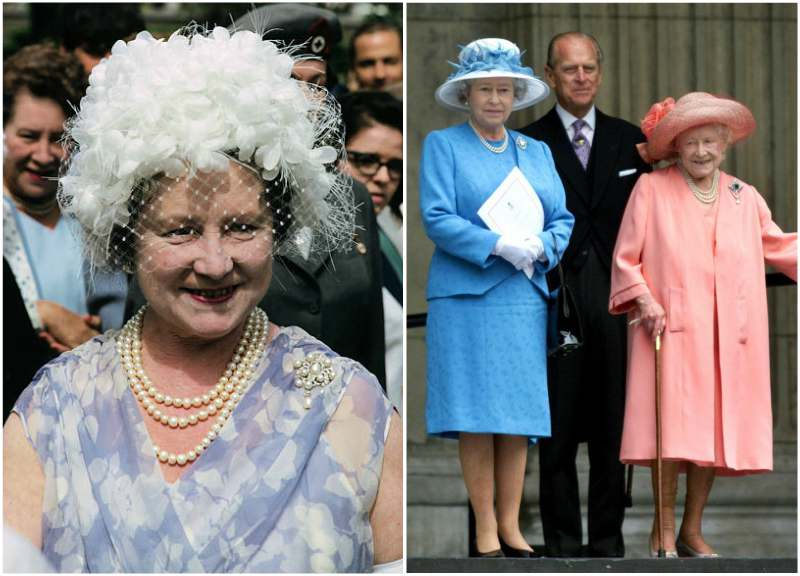 Queen Elizabeth II family - Queen Elizabeth the Queen Mother