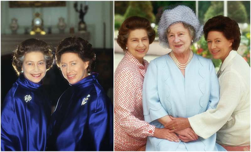 Queen Elizabeth II siblings - sister Princess Margaret