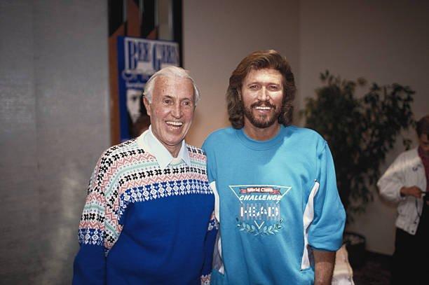 Barry Gibb's family - father Hugh Leslie Gibb