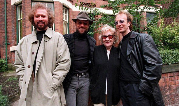Barry Gibb's family - mother Barbara Gibb