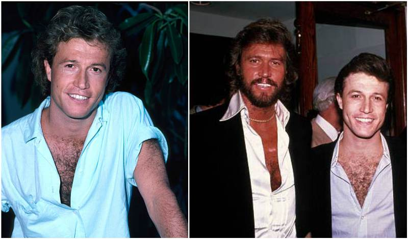 Barry Gibb's siblings - brother Andy Gibb