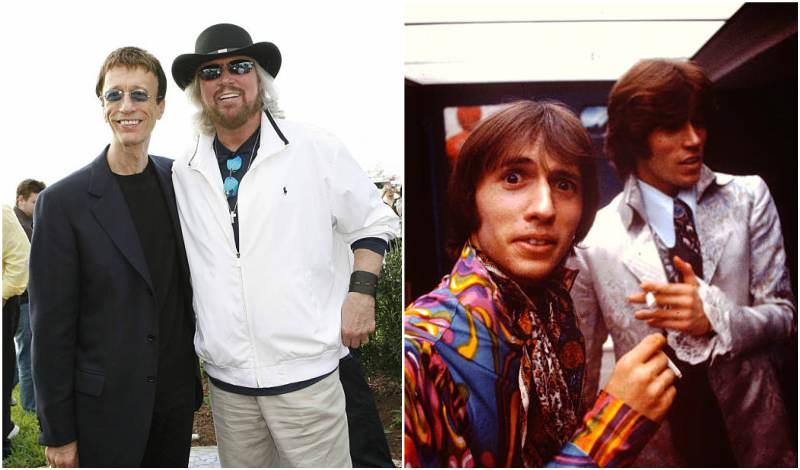 Barry Gibb's siblings - brother Robin Hugh Gibb