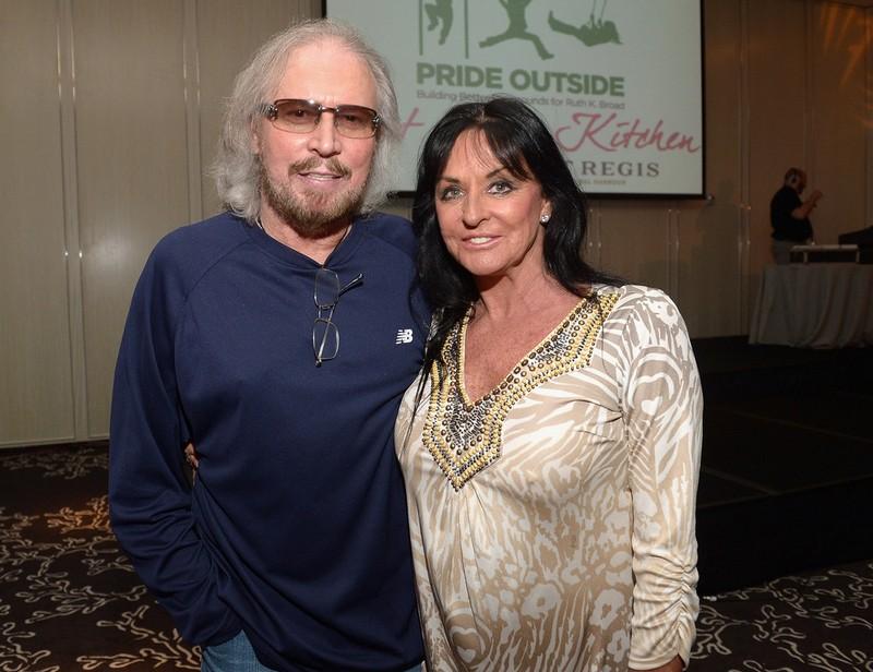 Barry Gibb's family - wife Linda Gibb