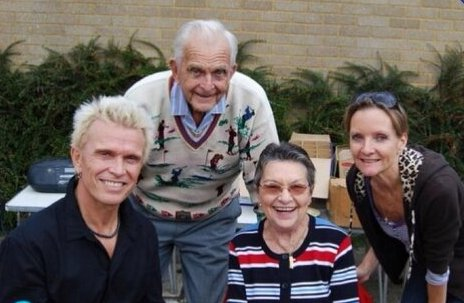 Billy Idol's family - parents and sister